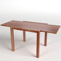 obj extended table uv unwrapped