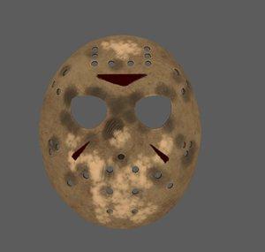 free obj model jason mask