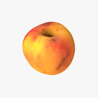 peach scanned pbr 3d max