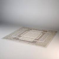 carpet modern 3d max
