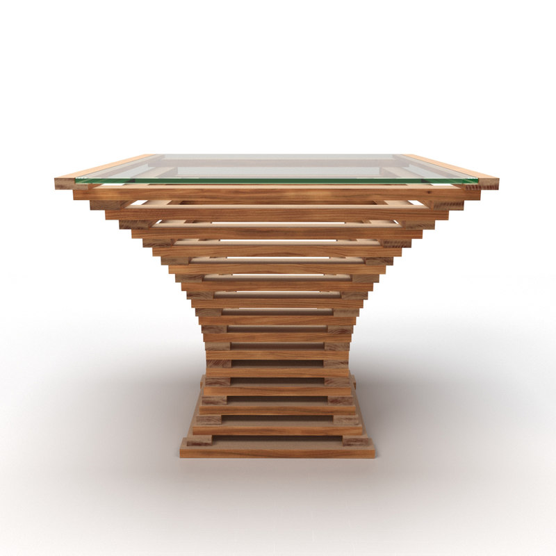 elm table vertigo 3d model