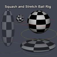 ball rig 3d model