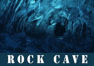 rock cave obj