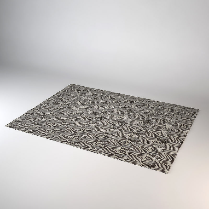 carpet modern dxf
