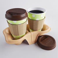 Coffee in holder