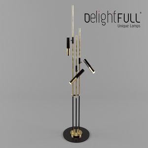light floor delightfull 3d model