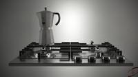 gas stove coffee machine max