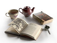 tea set books max