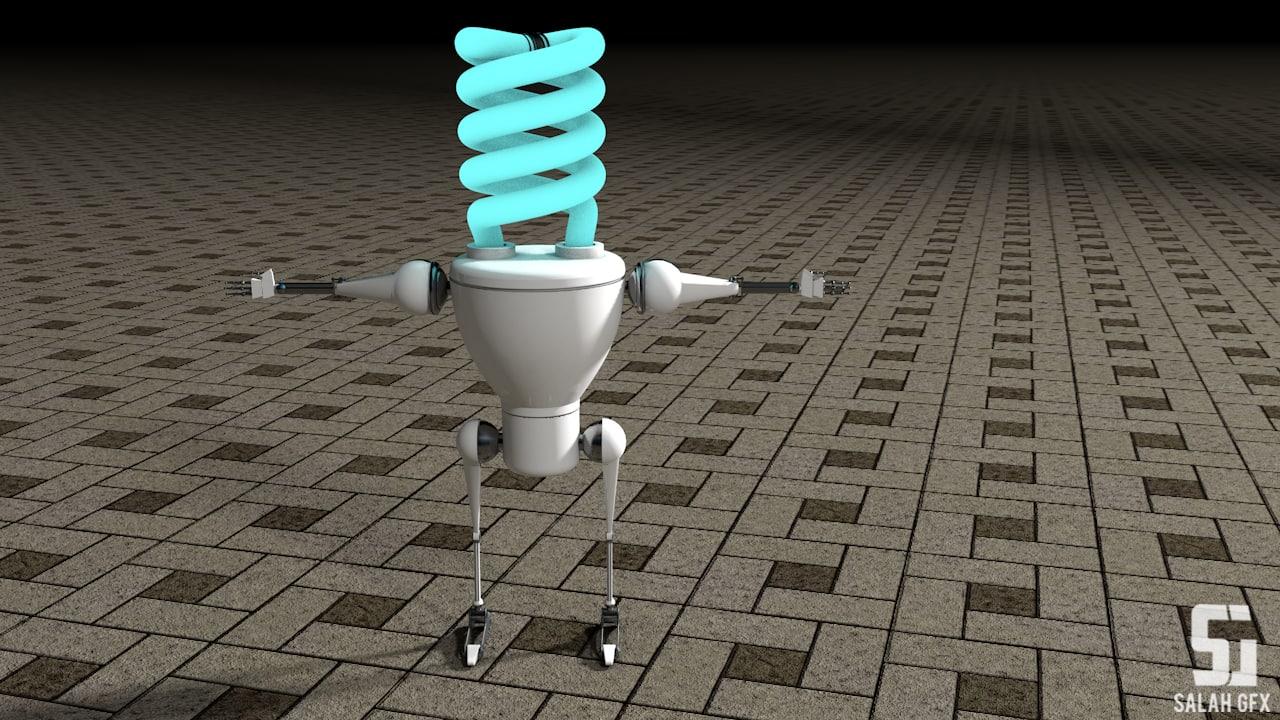 light bulb 3ds