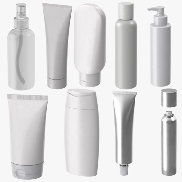 3d model cosmetic spray bottle