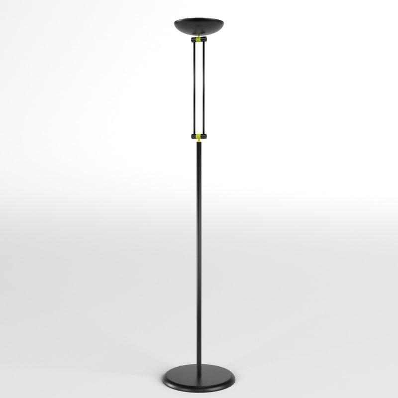 floor lamp 1 3d max