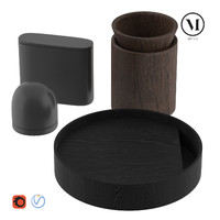 menu vase 3d model