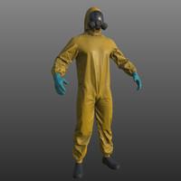 Realistic Hazmat Suit PBR
