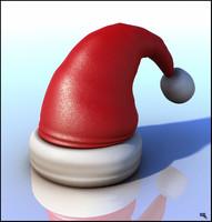 Santa Claus Hat Cartoon