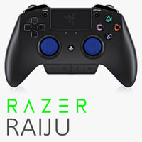 razer raiju 3d model