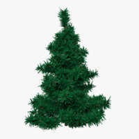fir tree 3d obj
