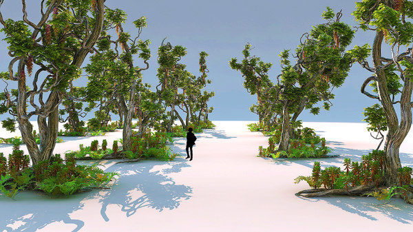 3d model magical forest pack 21