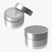 3d model creamer jar