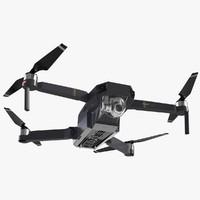 quadcopter dji mavic pro 4 3d 3ds