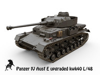 panzers tanks iv ausf 3d model