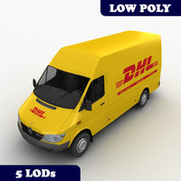 3ds mercedes sprinter dhl lod