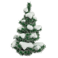 snow fir tree 3d max