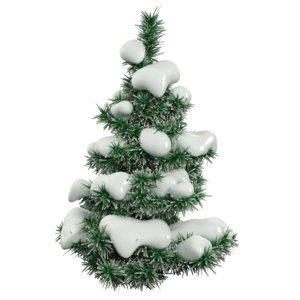 snow fir tree 3d max