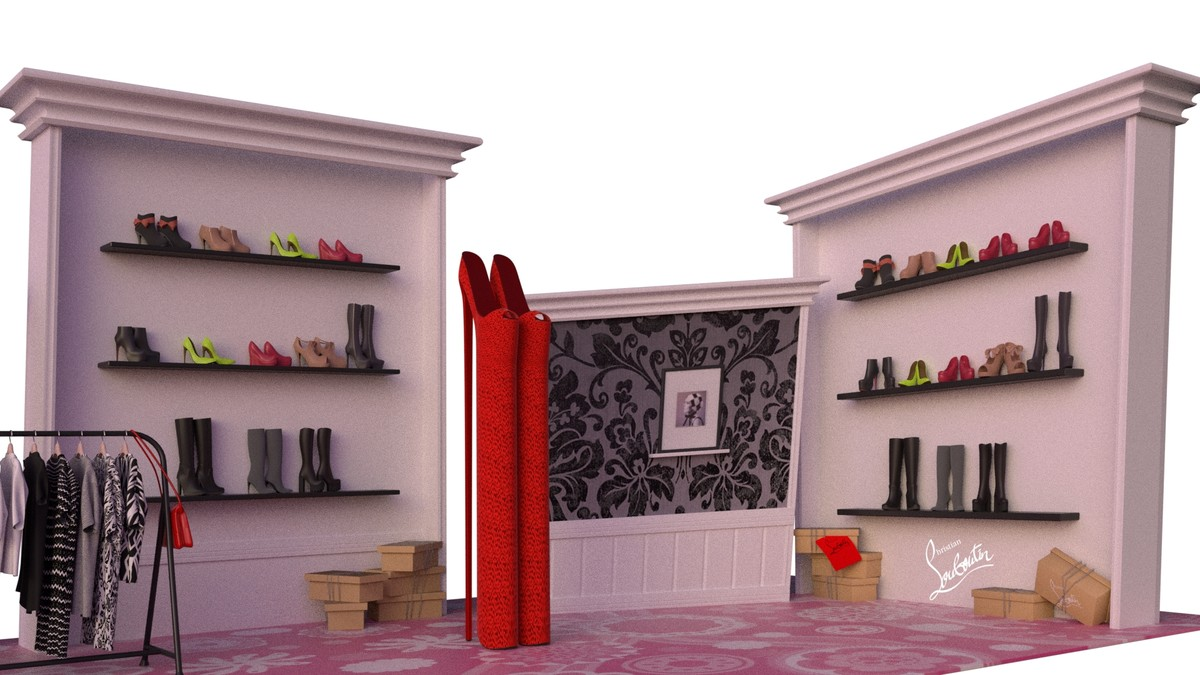 cartoon boutique 3d x