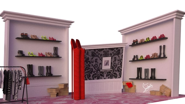 cartoon boutique 3d x