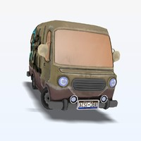 3d asset bus games