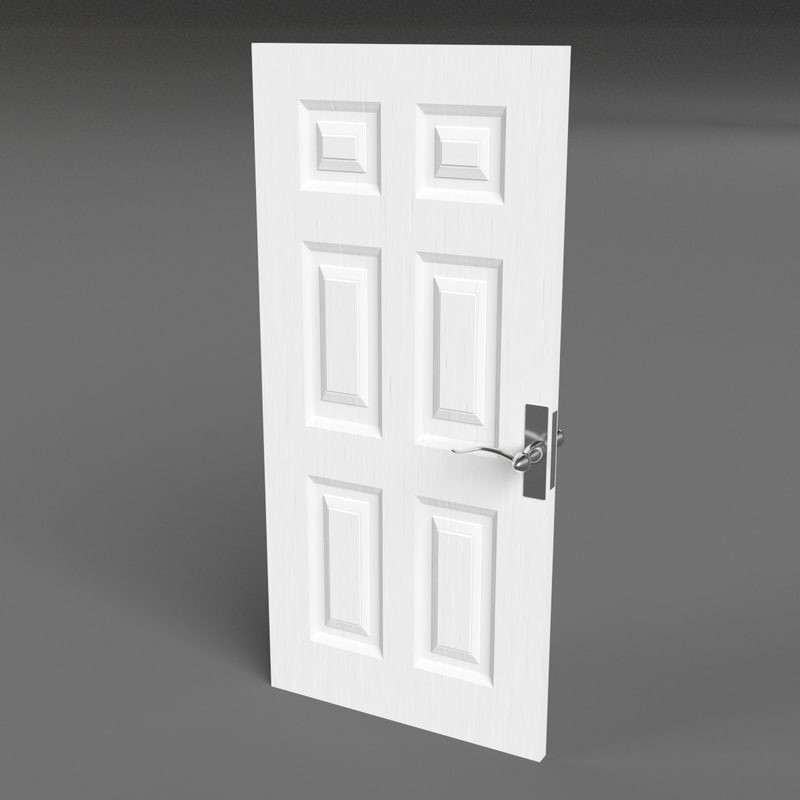 3d model raised panel door for Raised panel door templates