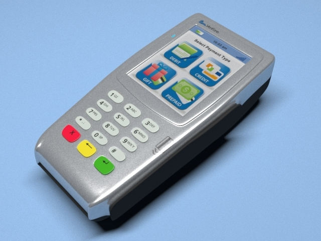 3d verifone vx 680 wireless model