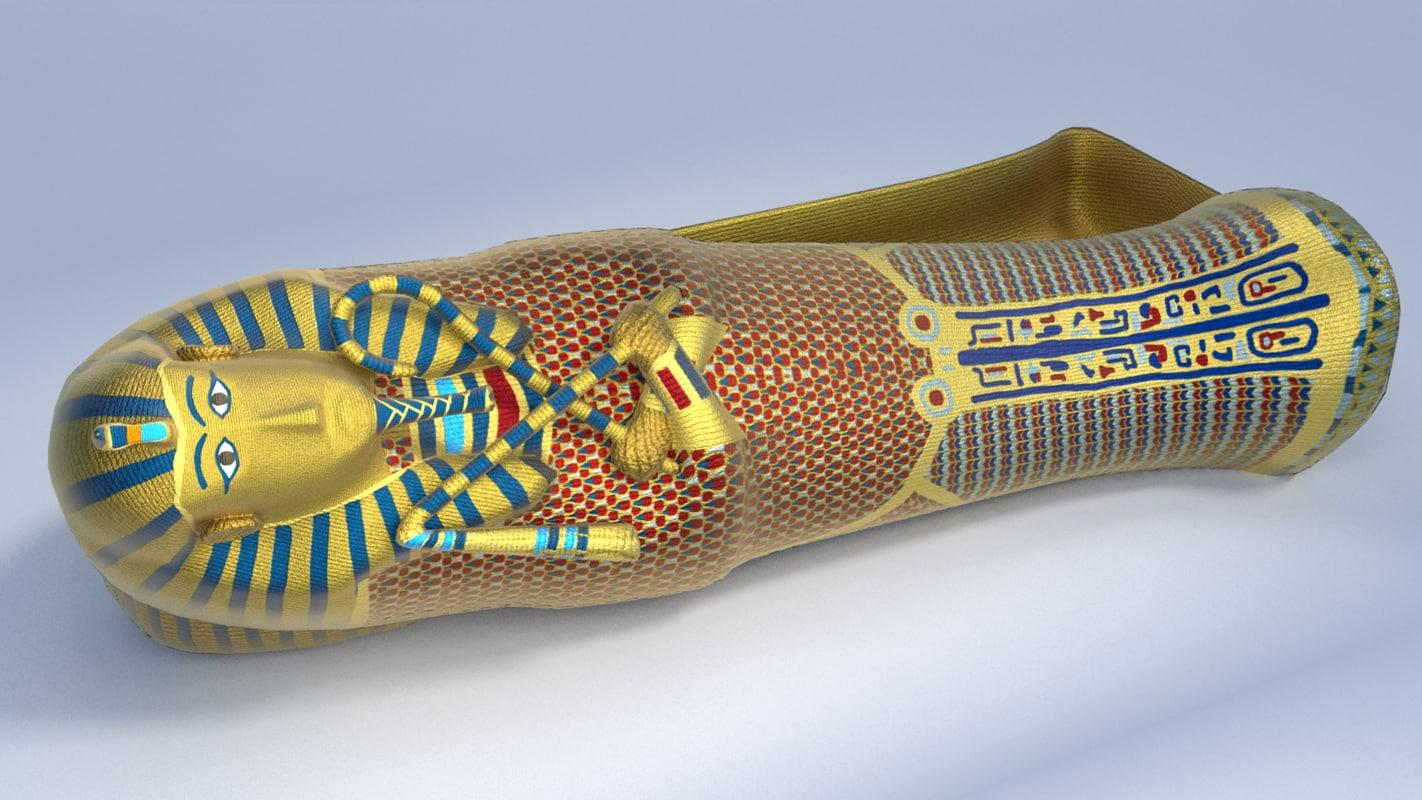 obj sarcophagus king tutankhamun -