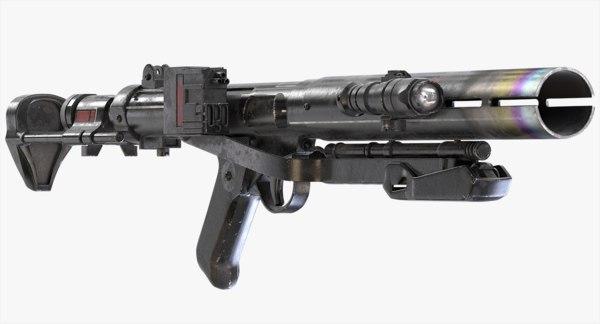 3d obj death trooper rifle