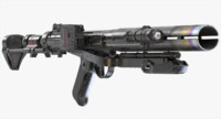 3d obj death trooper rifle