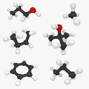 molecule set 3ds