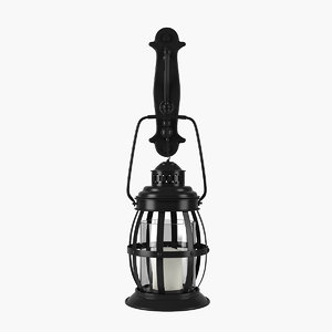 max wallmount lantern candle
