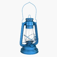 Storm oil lantern