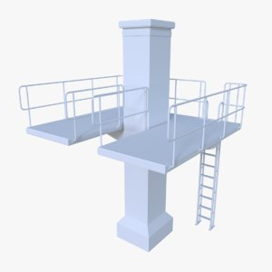 fbx diving tower