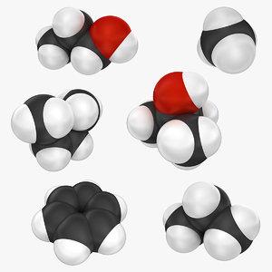 molecule 3 set 3ds