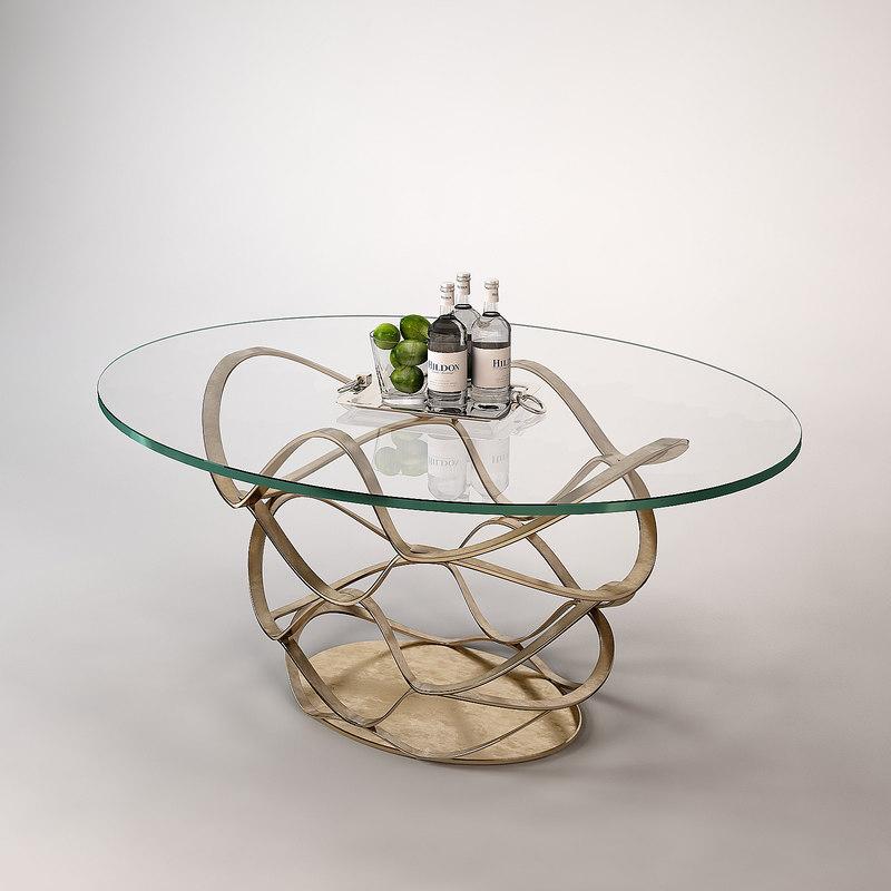 modern dinner table 3ds