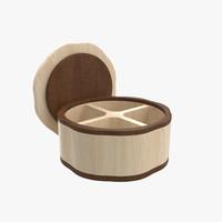 3d wood box