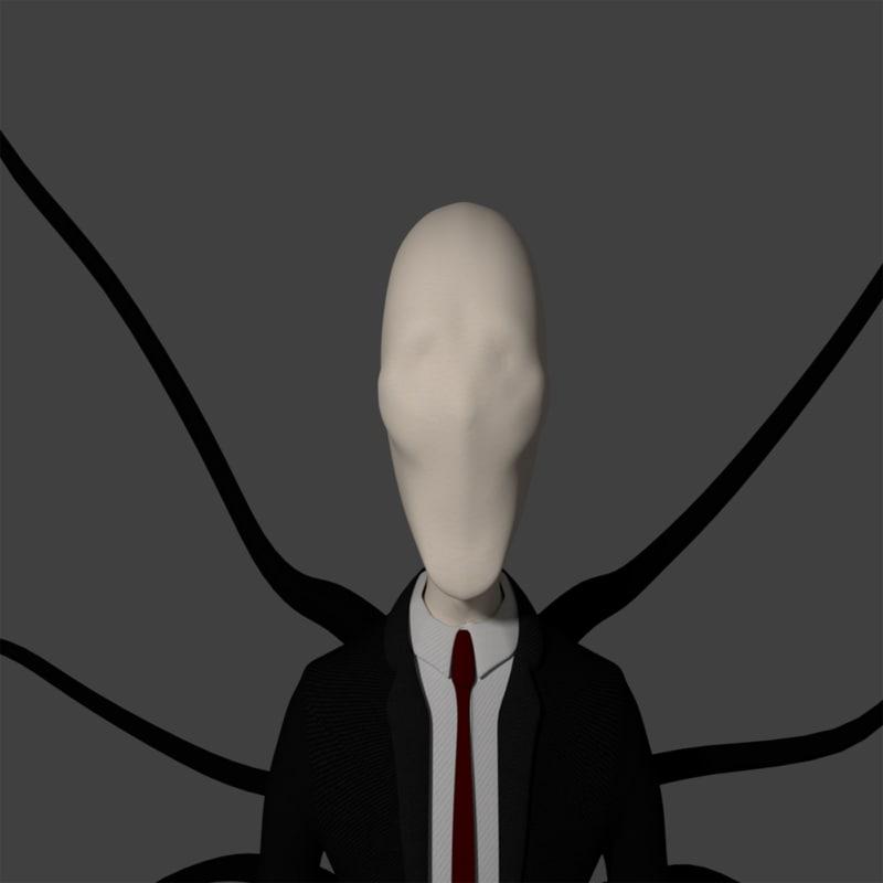 slender man 3d x