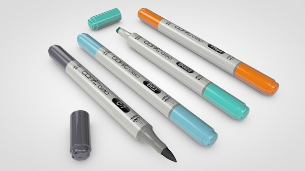 3d ciao markers model