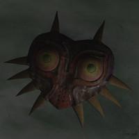 majoras mask 3d obj