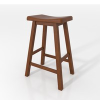 Tywin Bar Stool Walnut