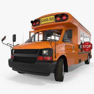 small school bus rigged max