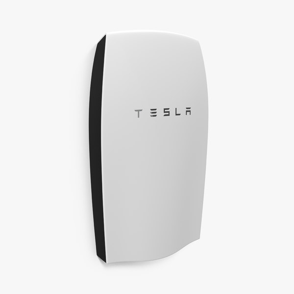 tesla powerwall 3d model