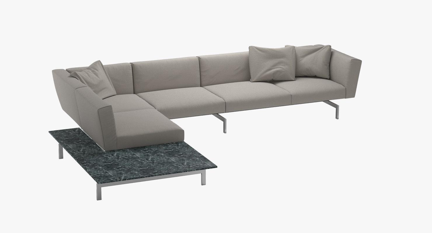 3d sofa 2 avio knoll model