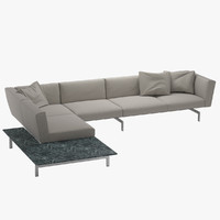 3d sofa 2 avio knoll model